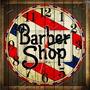 Relógio Vintage King Mdf 27x27 Barber Shop Cloqbc.0012