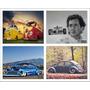 Placas Decorativas Carros Motos Decoração 25x20 20x25