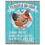 Placas Decorativas Mdf Galinha - Retrô Vintage Dhpm-001