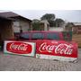 Placa Esmaltada Coca Cola Pepsi Cola Kaizer Brahma