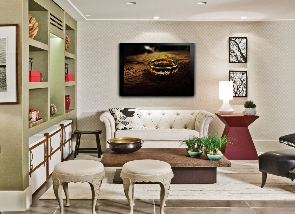 Decoracao sala de estar home theater id ias interessantes para o design do quarto - Sala home theatre ...