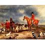 Caçadores Cães De Caça Inglaterra Pintor Ferneley Na Tela R