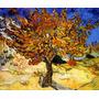 Amoreira Pomar Árvore Fruta Amora Pintor Van Gogh Tela Repro