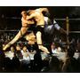 Ringue Luta Boxe Competição 1909 Pintor Bellows Tela Repro