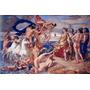 Deus Dos Mares Netuno Mitologia Pintor Dyce Large Tela Repro