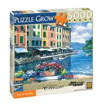 Quebra-cabeça Puzzile Vista De Portofino 5000 Pçs - Grow