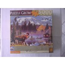 Quebra Cabeça Paisagem Canadense 5000 Peças Grow