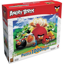 Quebra-cabeça Da Grow Puzzle 1000 Peças Angry Birds