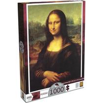 Brinquedo Novo Quebra Cabeça Puzzle 1000 Peças Monalisa
