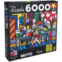 Quebra-cabeça Romero Britto Family 6000 Peças Grow