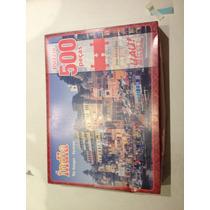Quebra Cabeça Puzzle 500 Peças Veneza Ou India