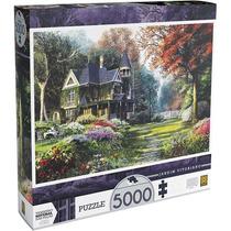 Quebra Cabeça Jardim Vitoriano 5000 Pecas Grow 053806