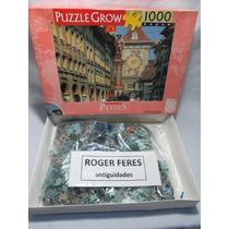 Jogo Puzzle Quebra Cabeça Grow 1000 Peças Lacrado Países