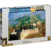 Quebra-cabeça Grow 1500 Peças Muralha Da China