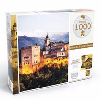 Brinquedo Quebra Cabeça Puzzle 1000 Peças Alhambra