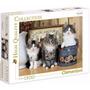Quebra Cabeça Puzzle Clementoni Gatos Gatinhos 1500 Peças