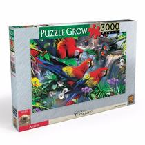 Quebra Cabeça Puzzle Grow 3000 Peças Araras Série Classic