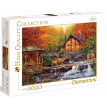 Quebra Cabeça Puzzle Clementoni 3000 Peças Paisagem Outono