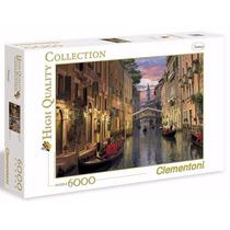 Quebra Cabeça Puzzle Clementoni 6000 Peças Paisagem Venice