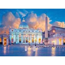 Quebra Cabeça Puzzle Clementoni 1500 Paisagem De Roma Rome
