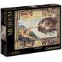 Quebra Cabeça 1.000 Peças - A Criação De Adão - Michelangelo