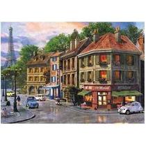 Puzzle Quebra Cabeça Ruas De Paris 5000 Peças Grow