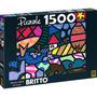 Quebra-cabeça Romero Britto 1500 Peças - Grow