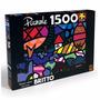 Quebra-cabeça Romero Britto - 1500 Peças - Grow