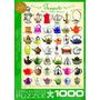 Quebra-cabeças - Bules 1000 Pedaço Eurographics Jigsaws