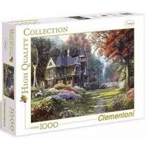 Quebra Cabeça Puzzle Clementoni 1000 Peças Jardim Vitoriano