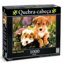 Quebra-cabeça 1000 Peças Filhotes - Grow
