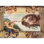 Quebra Cabeça Gigante 6000 Pcs Michelangelo Criação De Adão