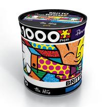 Quebra-cabeça Romero Britto The Hug Grow 1.000 Pçs