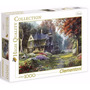 Quebra Cabeça Puzzle Clementoni 1000 Peças Paisagem Jardim