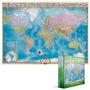 Quebra-cabeças - Mapa Do Mundo 1000 Eurographics Pedaço