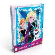 Quebra Cabeça Infantil Puzzle Grow 150 Peças Disney Frozen