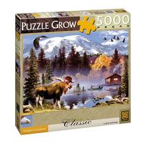 Quebra Cabeça 5000 Peças Paisagem Canadense Puzzle Grow