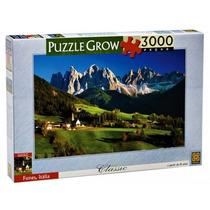 Quebra Cabeça 3000 Peças Puzzle 3000 Funes, Italia Grow