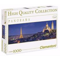 Quebra Cabeça Puzzle 1000 Peças Panorama Soiree A Paris