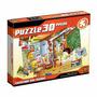 Puzzle 30 Peças Escolinha Dos Bichos