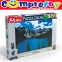 Mini Puzzle Lago Glacial 500 Peças Grow, Quebra Cabeça