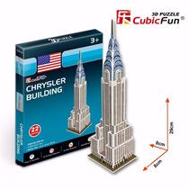 Quebra Cabeça Puzzle 3d Chrysler Building Presente Hobbie