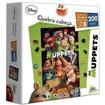 Quebra Cabeça Os Muppets 200 Peças - Jak