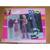Barbie Brinquedo Antigo Mattel Jogo Puzzle 100 Peças 90/00
