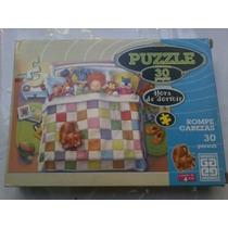 Quebra-cabeça Puzzle - 30 Peças - Grow