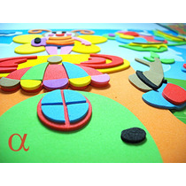 Kit Adesivo Infantil Quebra Cabeça 3d Em Eva Com 4modelos