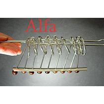 Quebra Cabeça De Metal Enigma 9 Argolas.nota Fiscal