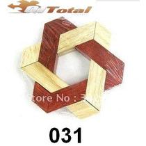 Quebra Cabeça Madeira Puzzle 3d Wood Desafio Cubo Jogo Stars