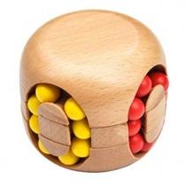 Quebra Cabeça Puzzle De Madeira Desafio Cubo