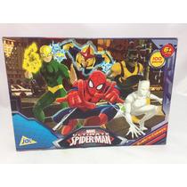Quebra Cabeça Homem Aranha 100 Peças Marvel Heróis Menino